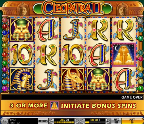 free casino slots games cleopatra